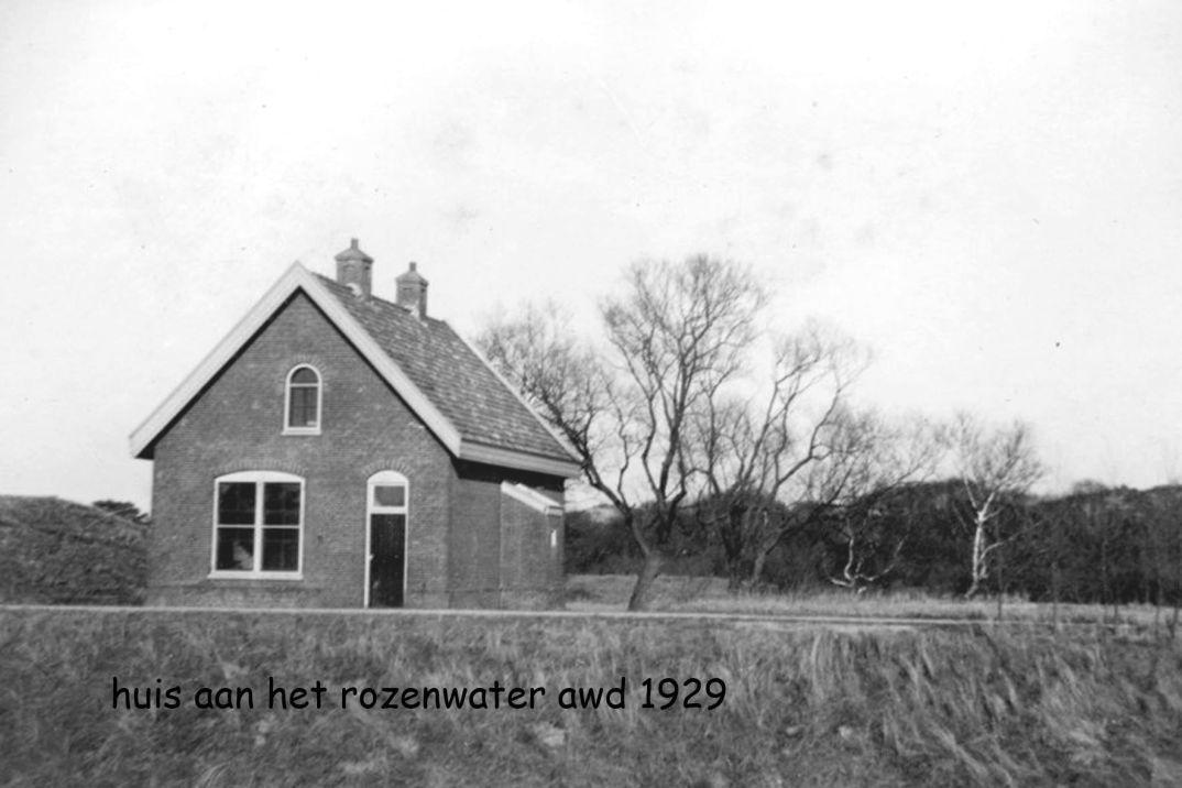 wachtershuisje rond 1929