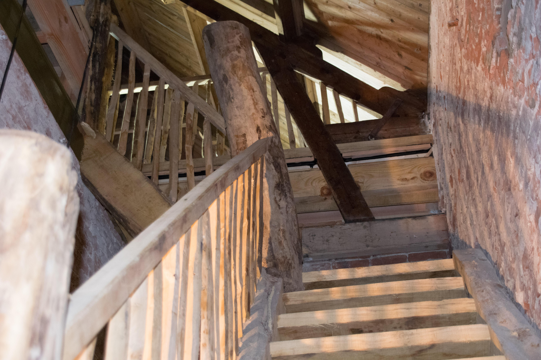 Wachtershuisje trapopgang