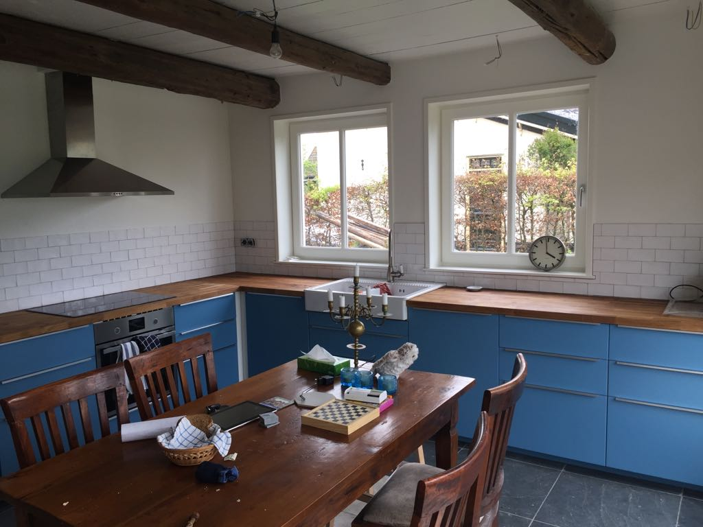 Ransdorp ramen in keuken