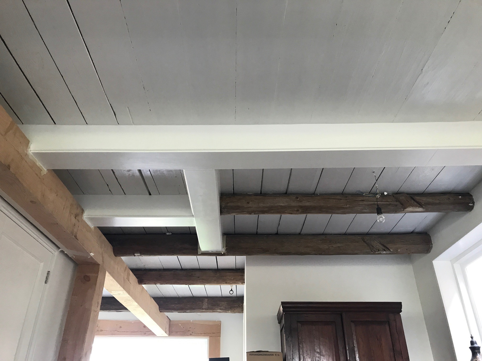 Ransdorp balken plafond